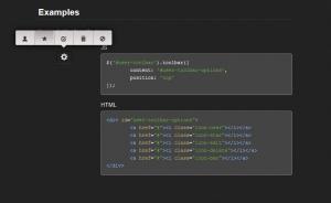 Toolbar.js plugin