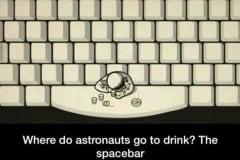 Astronauts bar