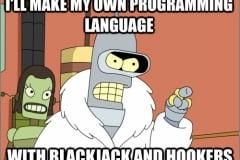 Creating own programming language :-D
