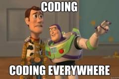 Coding everywhere